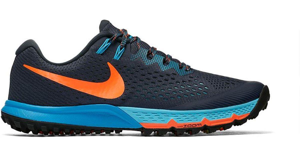 4fb2be24fb75 Lyst - Nike Men s Air Zoom Terra Kiger 4 Trail Running Shoe in Blue for Men