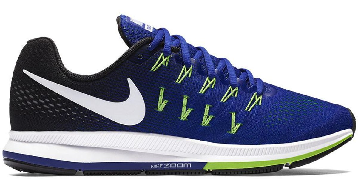 02be3a7f5ec001 Lyst - Nike Air Zoom Pegasus 33 Running Shoes in Blue for Men