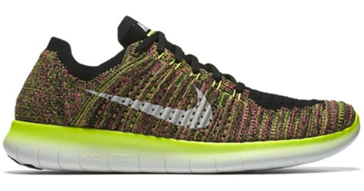 official photos 741b1 3801c Lyst - On Men s Nike Free Rn Flyknit Running Shoes - Unlimited Collecti for  Men