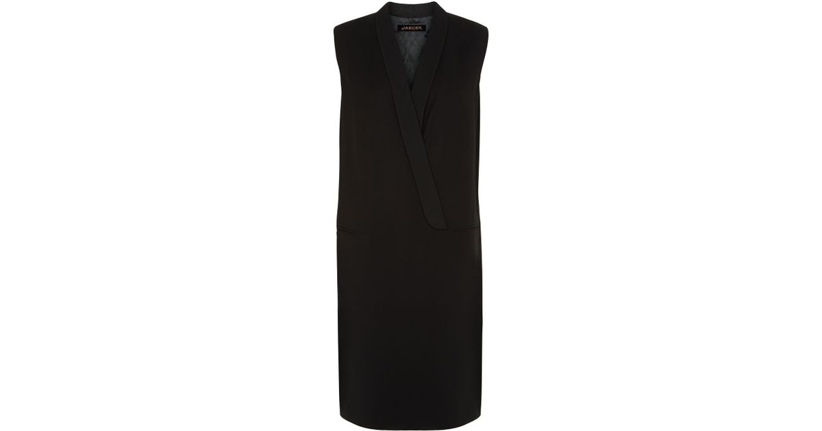 Lyst Jaeger Contemporary Tailoring Dress In Black