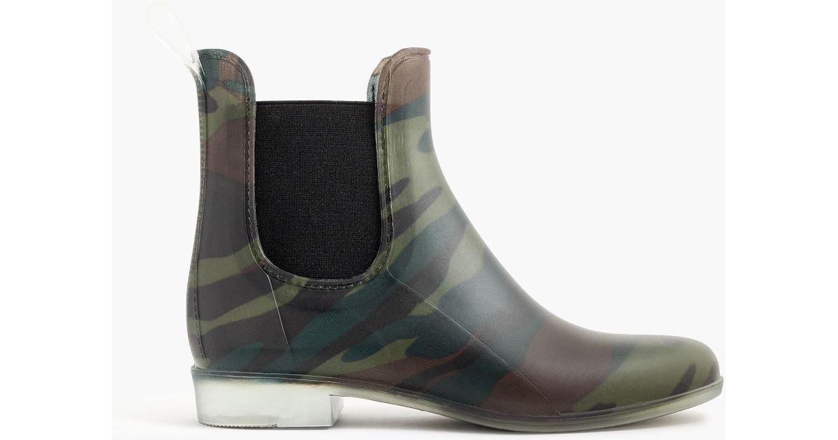 737b827e29d93 J.Crew Matte Chelsea Rain Boots - Lyst