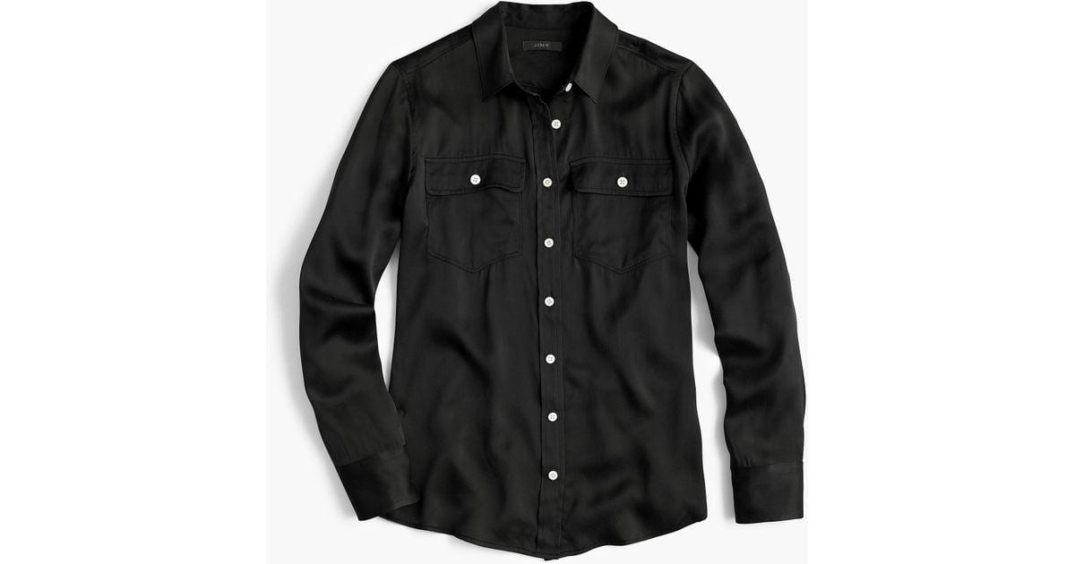 d1a72d3b167685 J.Crew Petite Women's 2011 Blythe Shirt in Black for Men - Lyst