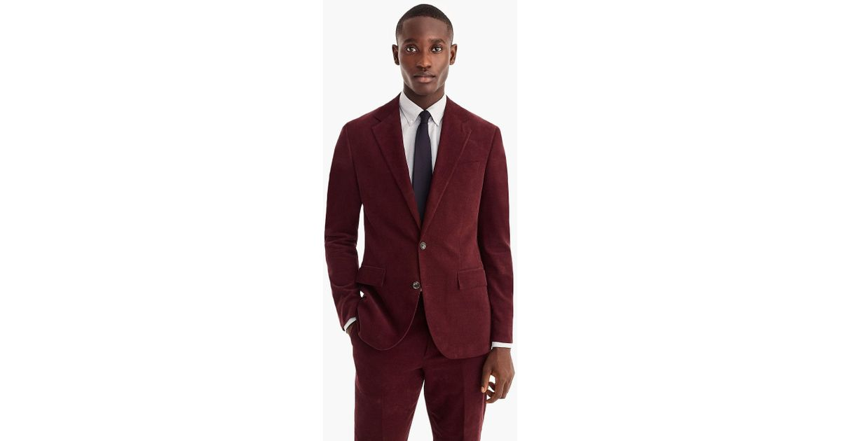 656e698625d6 J.Crew Ludlow Classic-fit Suit Jacket In Italian Corduroy for Men - Lyst