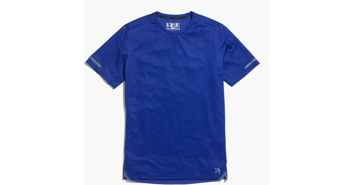 New Balance Cooling Workout T Shirt In Blue For Men