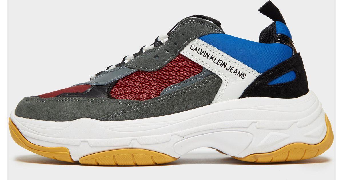 371889121e071d Calvin Klein Marvin Colorblocked Sneaker for Men - Lyst