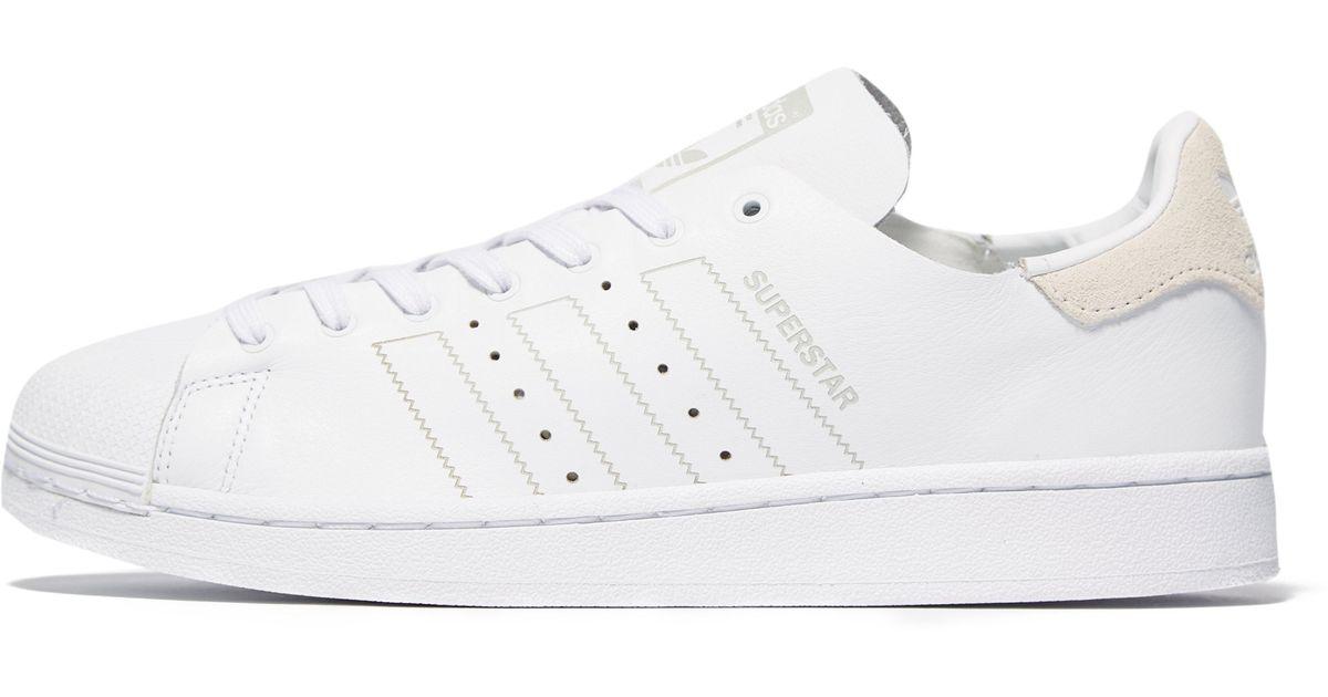 Adidas Originals White Superstar Decon Lyst