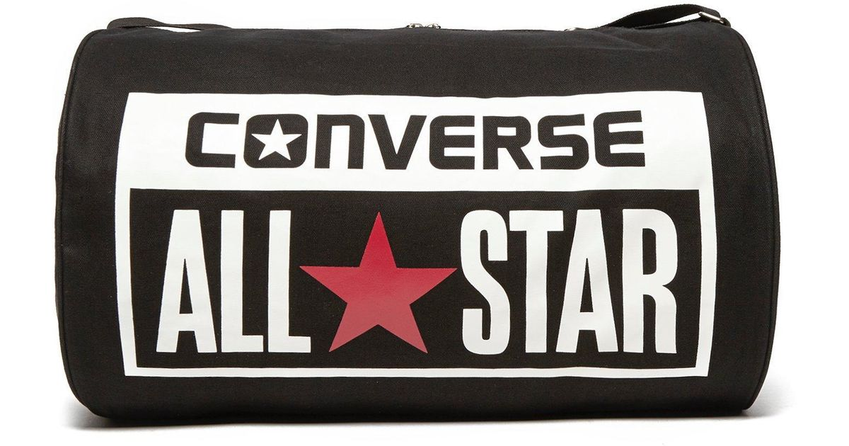 ff4a8610f154e Converse Legacy Duffel Bag in Black for Men - Lyst