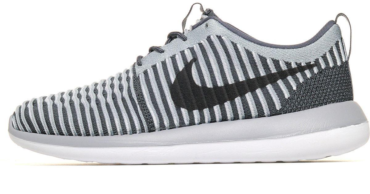 online store b0597 038c2 Nike - Gray Roshe 2 Flyknit for Men - Lyst