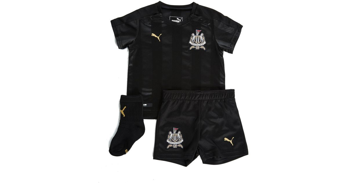 PUMA Newcastle United 2017 18 Third Kit Infant in Black for Men - Lyst 997a574e8