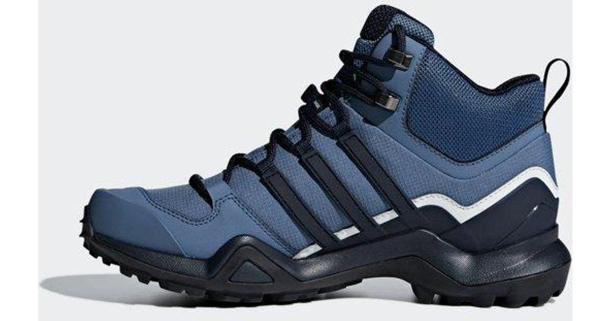 f6a17ddb9 adidas Terrex Swift R2 Mid Gtx Shoes in Blue - Lyst