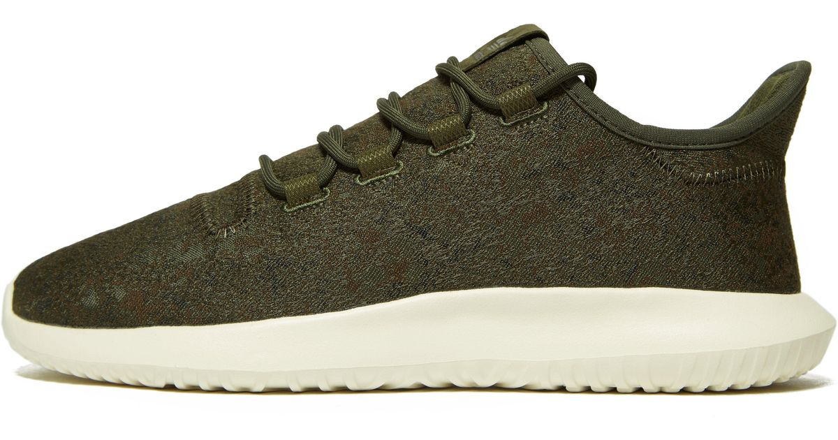 low priced 87d07 849d4 Lyst - adidas Originals Tubular Shadow in Green for Men