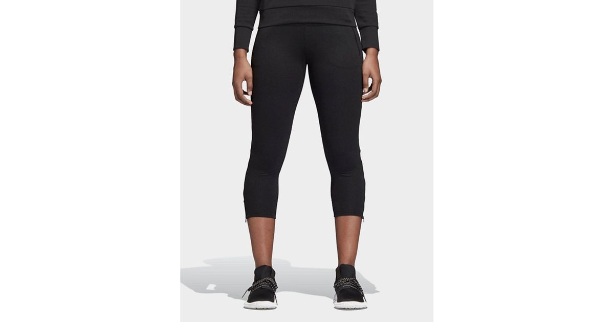 Adidas Black Id Glory 78 Skinny Pants Lyst