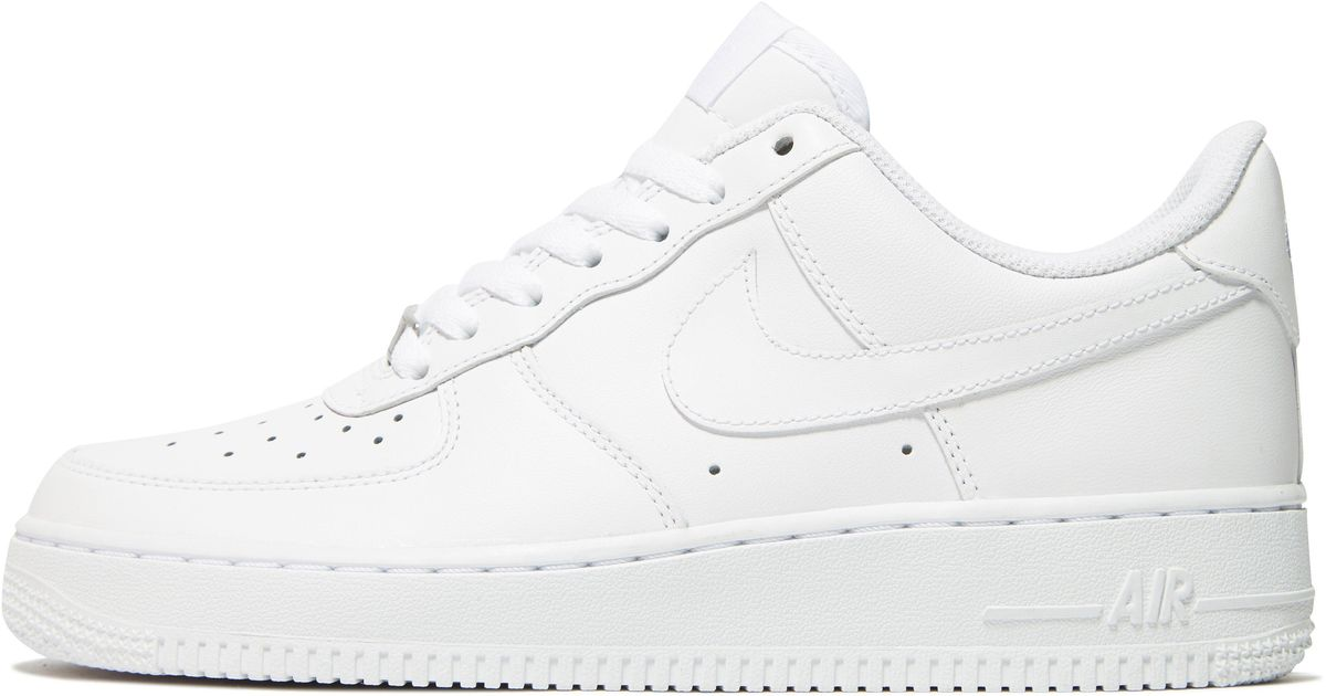 07400a397633 Lyst - Nike Air Force 1 Low Womens in White