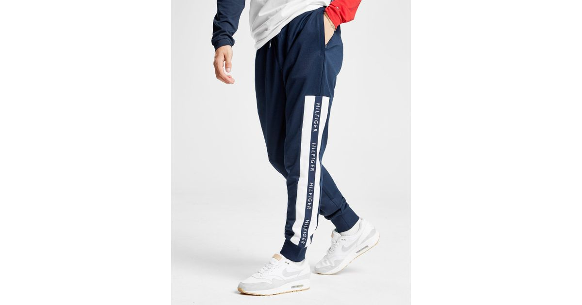 664fe41c6fbe Tommy Hilfiger Colour Block Track Pants in Blue for Men - Lyst
