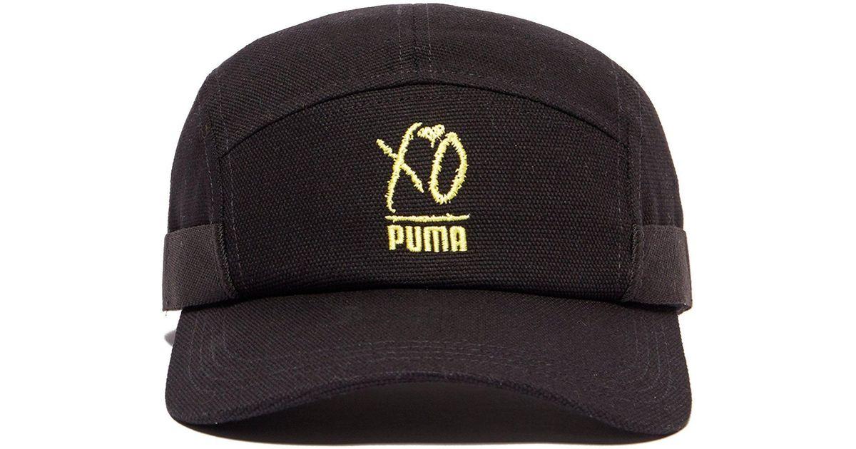 Lyst - PUMA Xo Cap in Black for Men cf66b4435b3