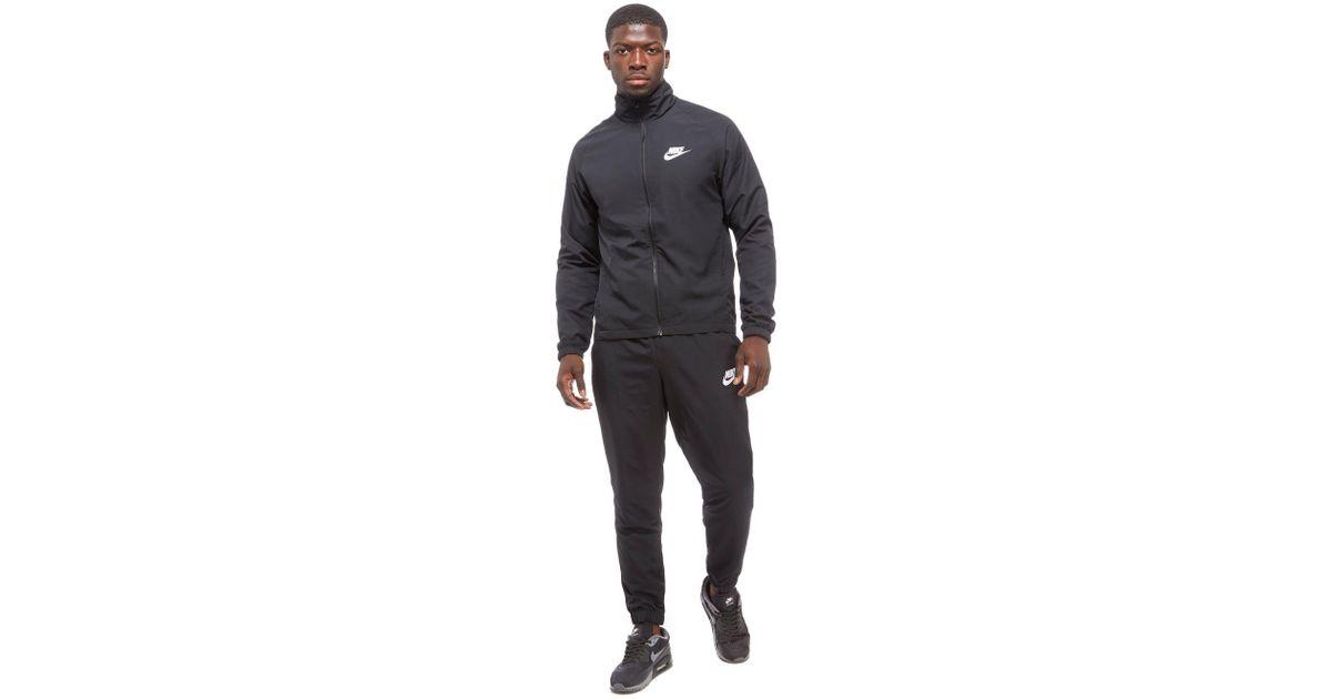 89e7f66b432b Nike Season 2 Woven Tracksuit in Black for Men - Lyst
