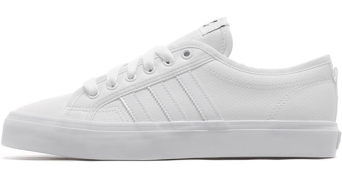 new product 41bae 5fb03 Lyst - adidas Originals Nizza Lo in White for Men