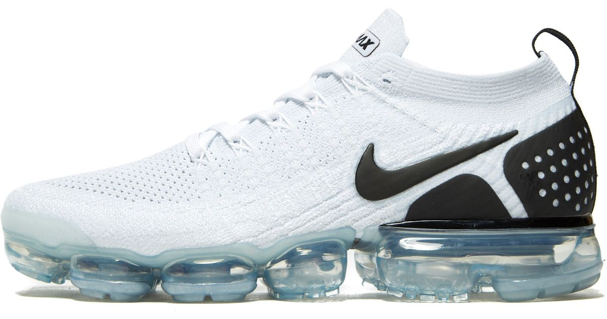 2480f2738aad ... canada lyst nike air vapormax 2 flyknit in white for men 8a917 aefce