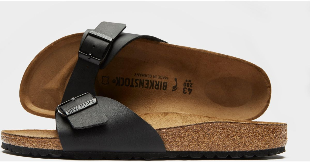 ddf943783956 Birkenstock Madrid Sandals in Brown for Men - Lyst