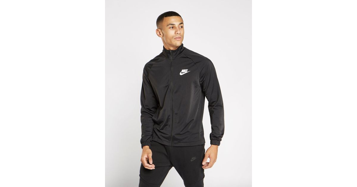 9ab3f766a861 Nike Division Poly Track Top in Black for Men - Lyst