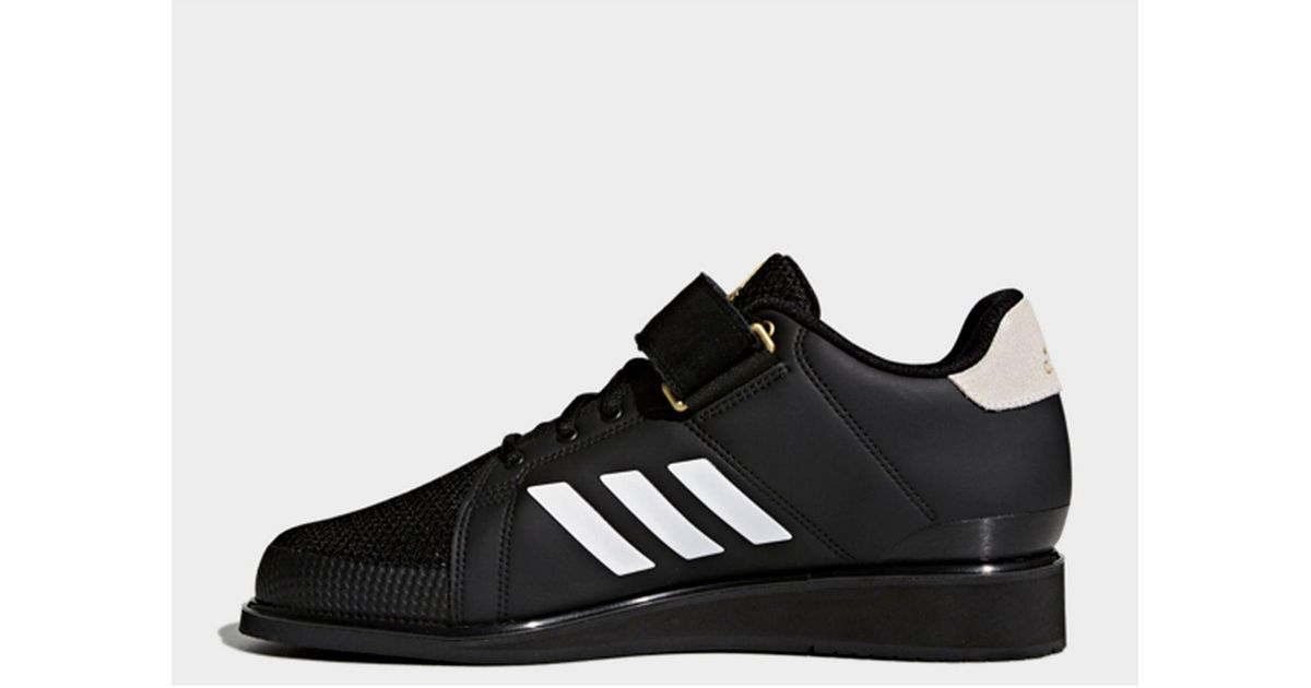 4437d706082c adidas Power Perfect 3 Shoes in Black - Lyst