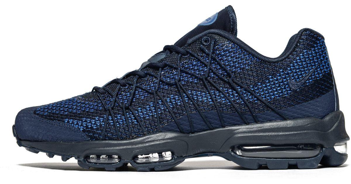 Nike Blue Air Max 95 Ultra Jacquard