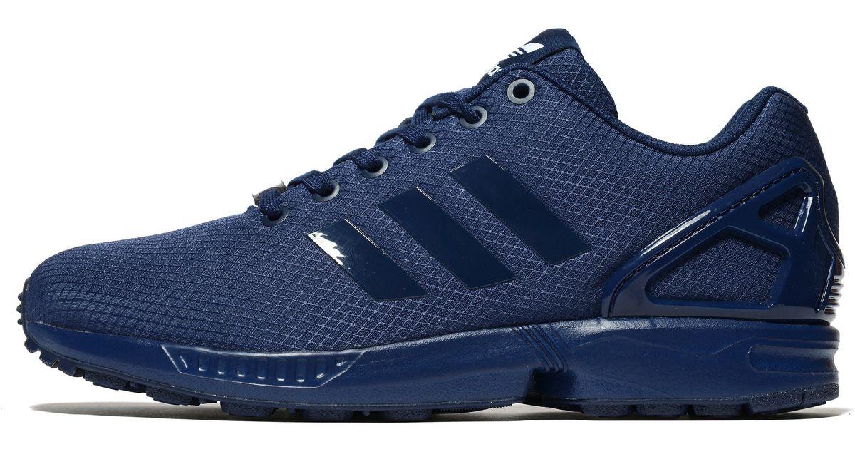 272d75f434f ... aliexpress lyst adidas originals zx flux ripstop in blue for men 20e23  a14fa