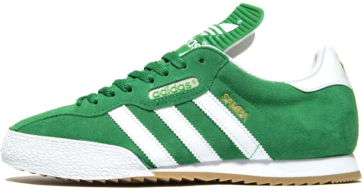 c01ad0d30a2 Lyst - adidas Originals Samba in Green for Men