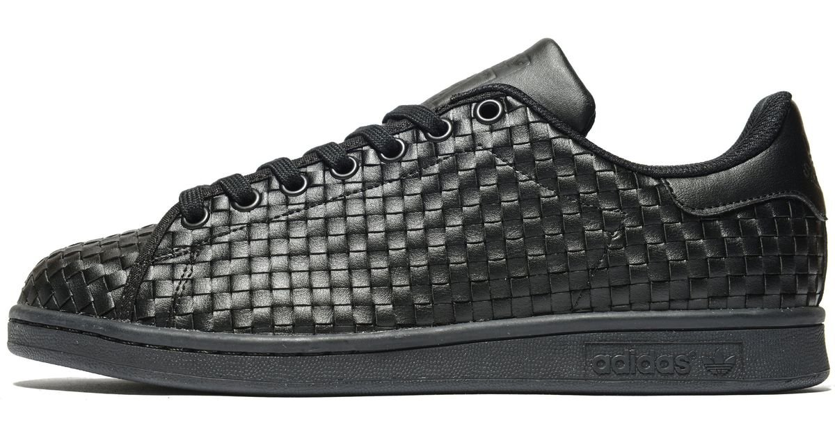 huge selection of 71fe2 eae65 Lyst - adidas Originals Stan Smith Weave in Black for Men