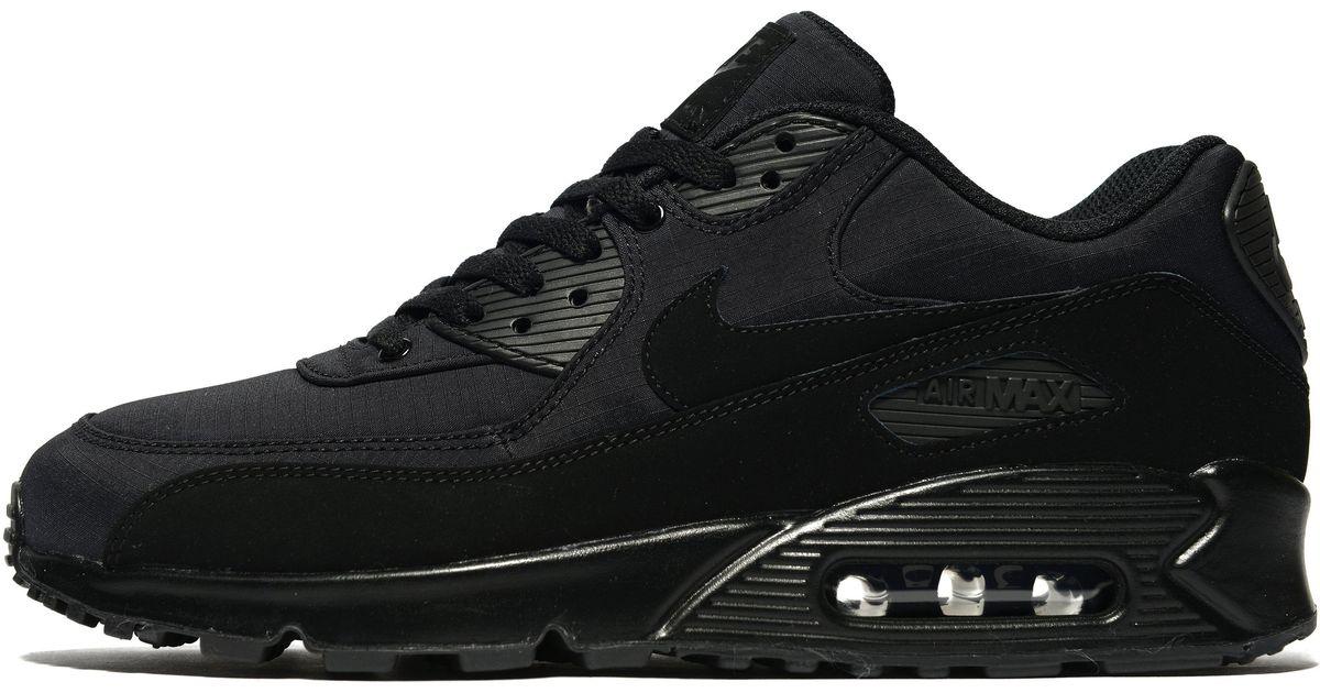 big sale 14cd1 278df Lyst - Nike Air Max 90 Ripstop in Black for Men