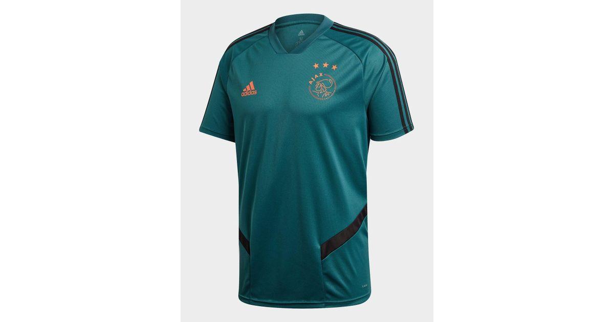 c8cdd0aabd5 adidas Ajax Training Shirt in Green for Men - Lyst