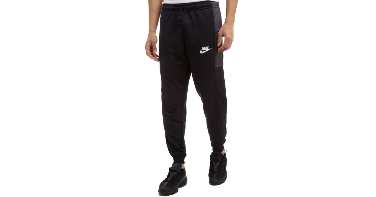 1ec21f23 Nike Season Colourblock Poly Track Pants in Black for Men - Lyst