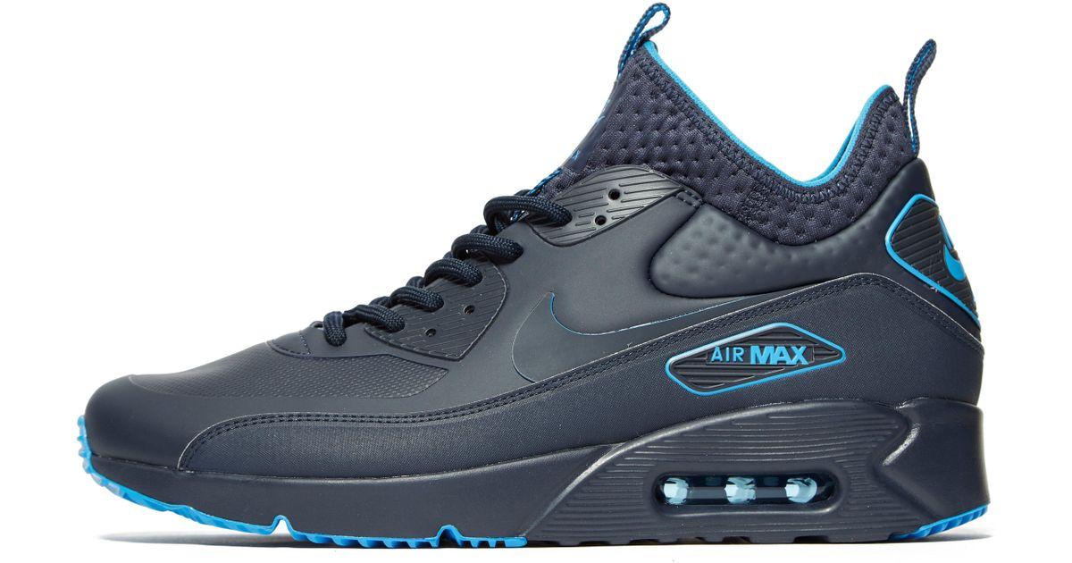 Nike Air Max 90 Ultra Mid Winter SE AA4423 001 Herren Schuhe