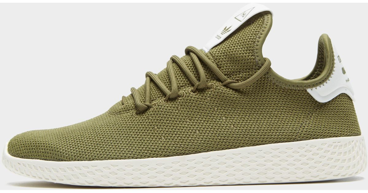 on sale 190b3 2131c Lyst Originals Adidas Originals Lyst X Pharrell Williams Tennis Hu in Verde  for Hombre 2257fb