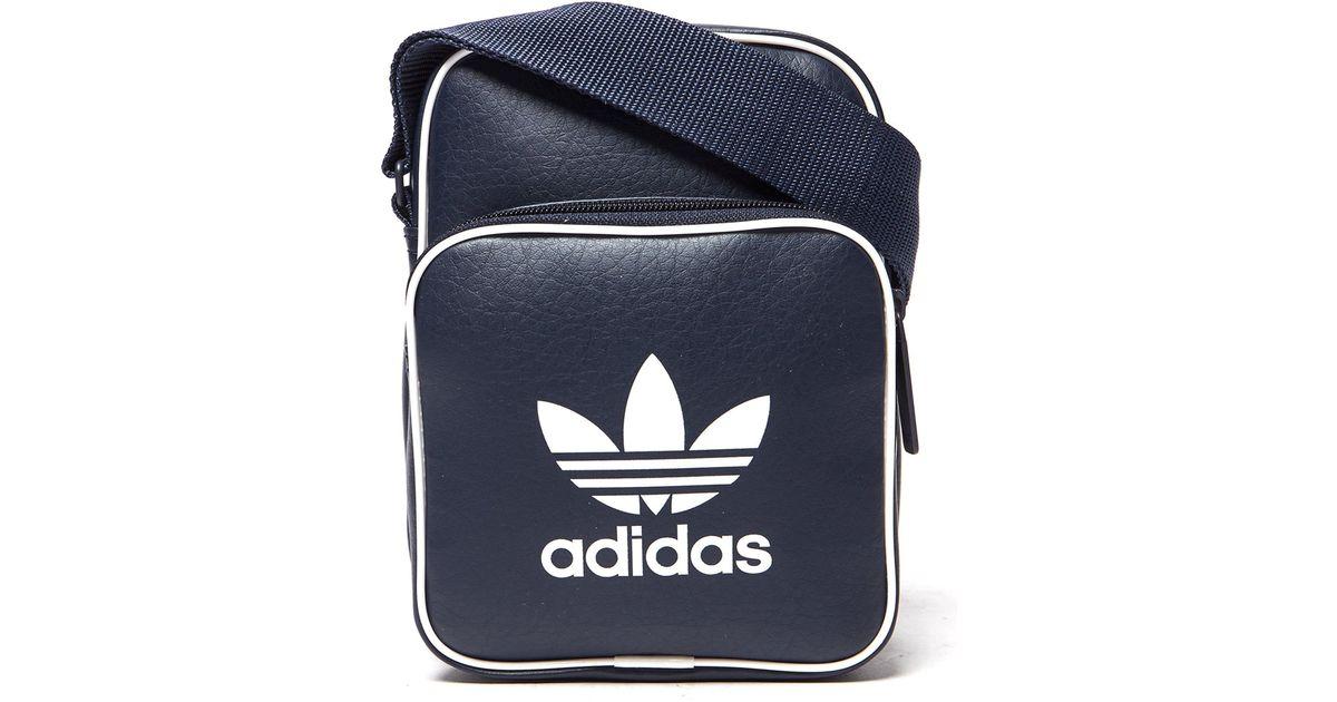 6cd9749ed5 adidas Originals Classic Mini Bag in Blue for Men - Lyst