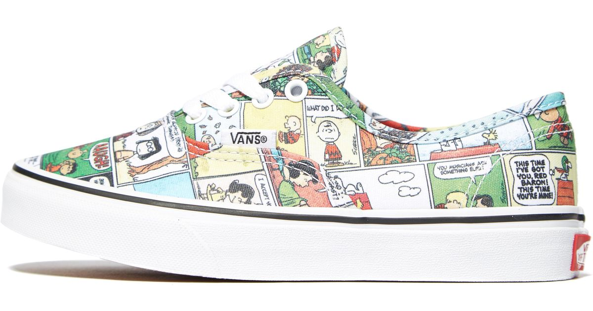 8bdbd49f12 Vans X Peanuts Td Authentic Comic Children - Lyst