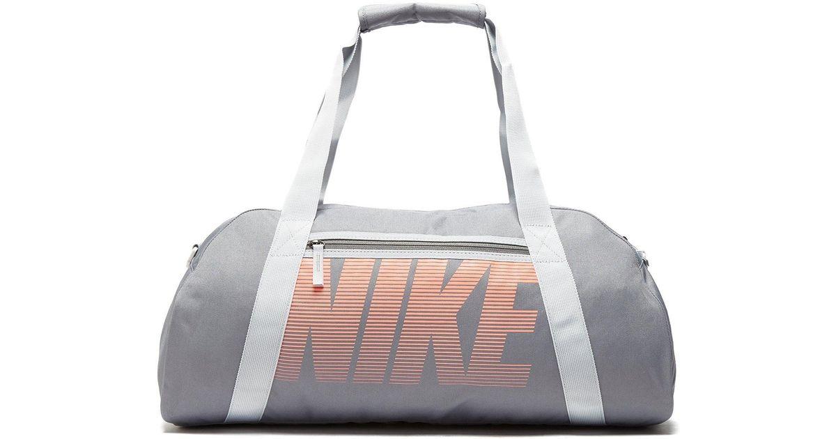 a92b8f02b544 Nike Gym Club Training Duffle Bag in Gray - Lyst