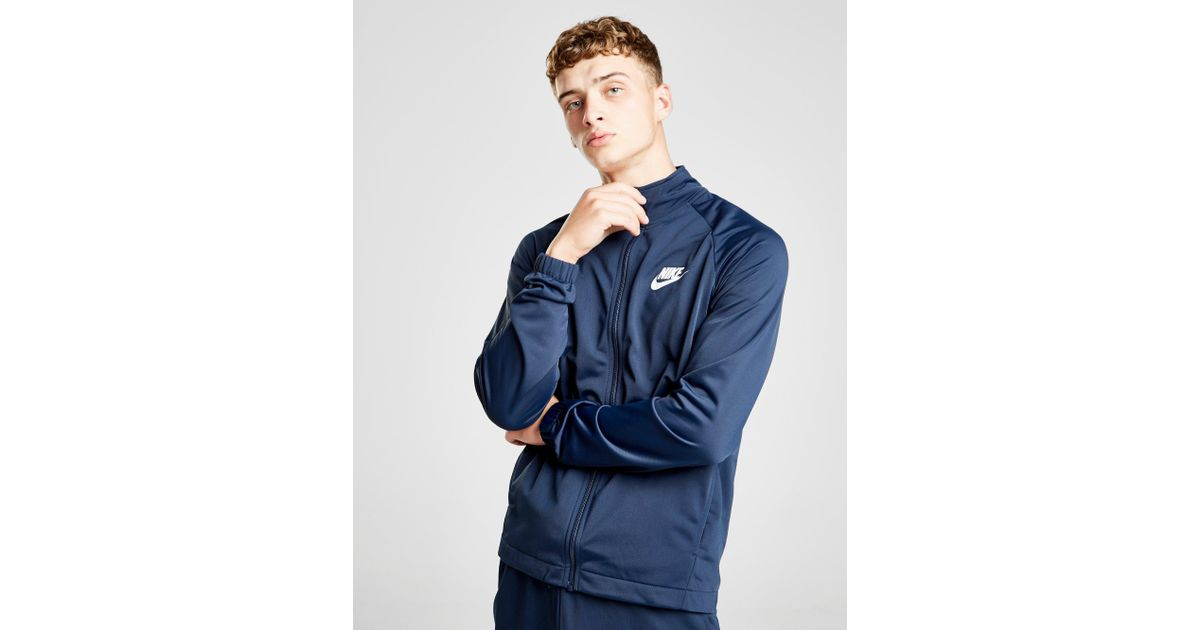 014f688ee12d Nike Division Poly Track Top in Blue for Men - Lyst