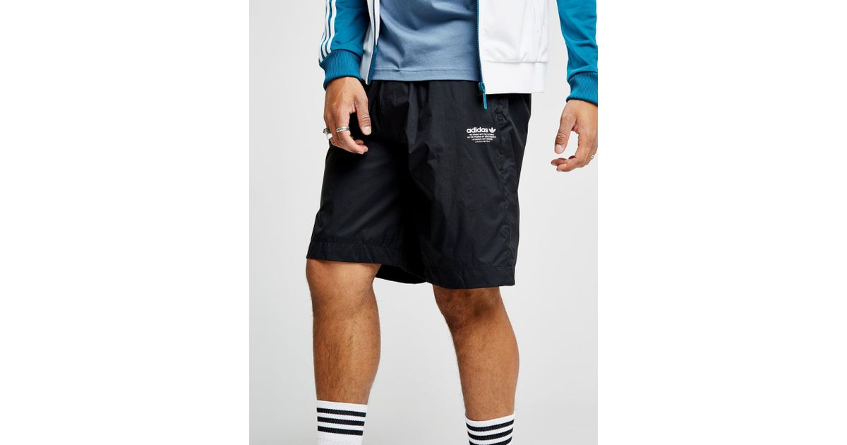 090823fbd adidas Originals Nmd Woven Shorts in Black for Men - Lyst