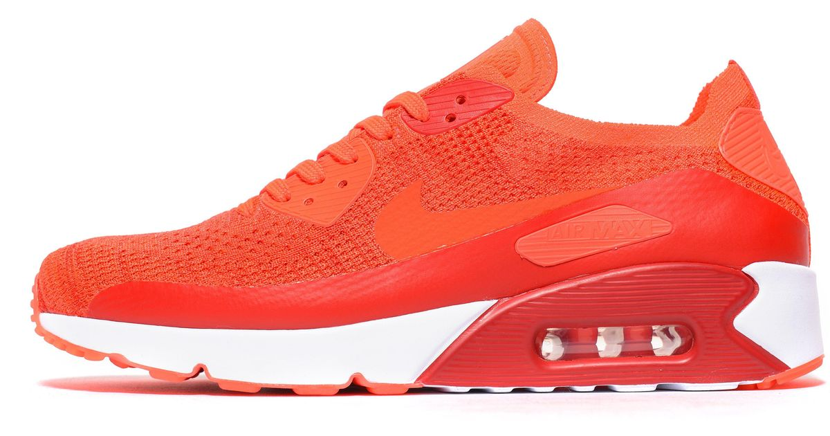 660e060ef7a4 Lyst - Nike Air Max 90 Ultra 2.0 Flyknit in Red for Men