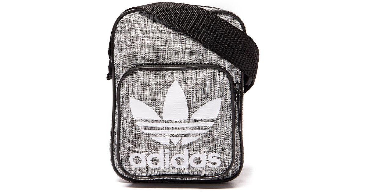adidas Originals Mini Melange Small Items Bag in Gray for Men - Lyst 371c1868eaffc