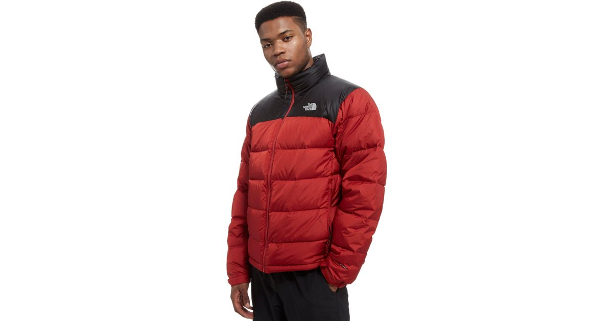 ... italy lyst the north face nuptse 2 jacket in red for men de5c3 4a91d ... 91d8a788a