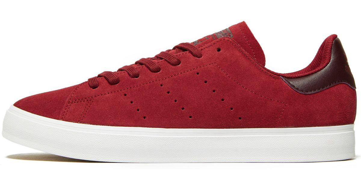 deb3224db7f Lyst - adidas Originals Stan Smith Vulc in Red for Men