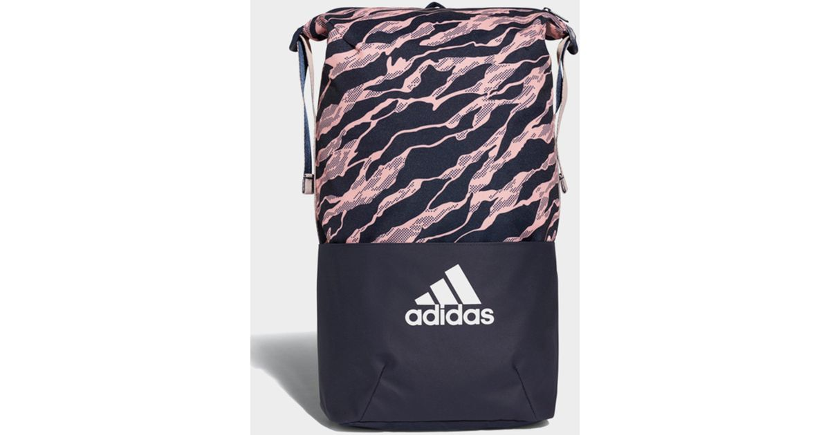 6ae852d0c6c5 Lyst - adidas Z.n.e. Core Graphic Backpack in Blue for Men