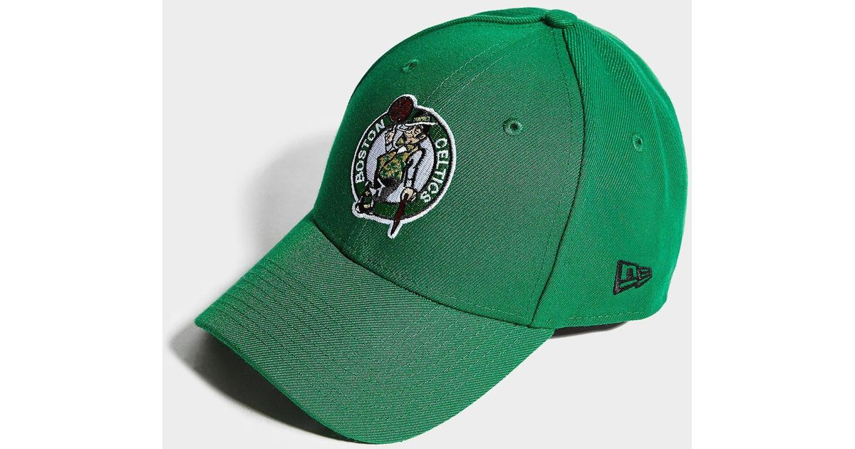 huge discount 0e3dd 4bc0d Lyst - KTZ Nba Boston Celtics 9forty Cap in Green