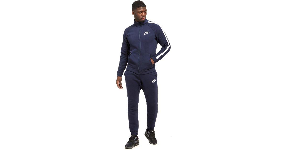 stylistisches Aussehen ungleich in der Leistung beste website Nike Blue Season Fleece Suit for men