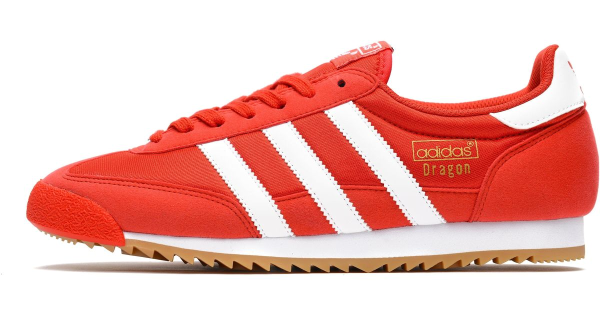new concept 8ba45 8afc9 adidas Originals Dragon Vintage in Red for Men - Lyst