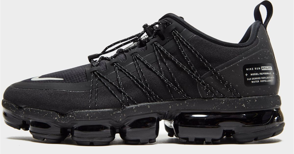 a643a3ab27d64 Lyst - Nike Air Vapormax Run Utility in Black for Men
