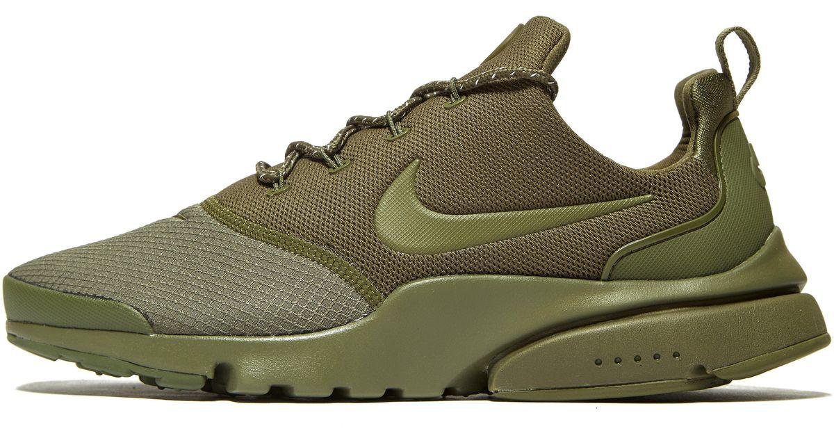 62bf18e37e51 Nike Air Presto Fly Se in Green - Lyst