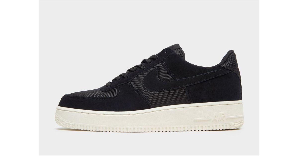 super popular 3351d 14082 Nike Air Force 1  07 Low Essential in Black for Men - Lyst